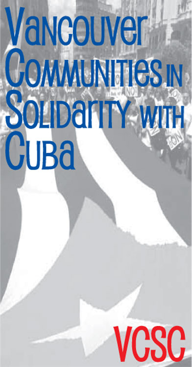 find out more about Vancouver Communities    in Solidarity with Cuba!